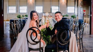 Curio Loft Antiques on Pierce Wedding