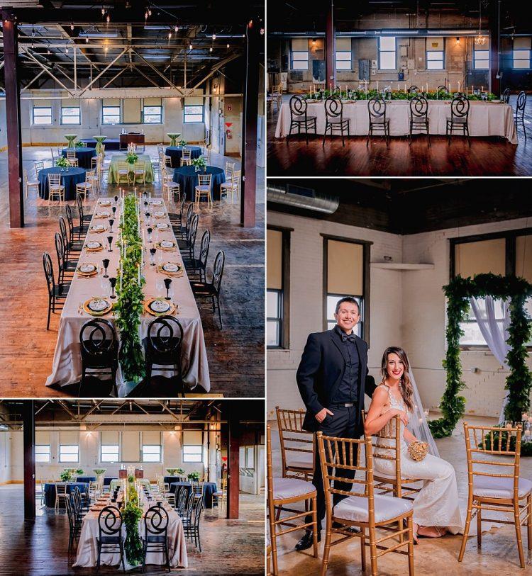 Weddings at Curio Loft at Antiques on Pierce