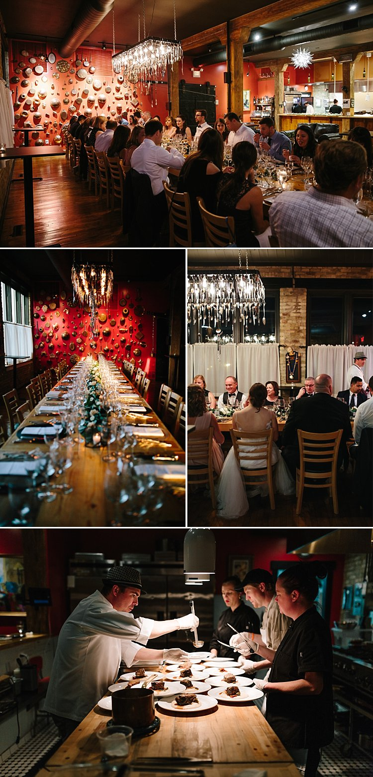 Walker's Point Wedding Venue - The Chef's Table