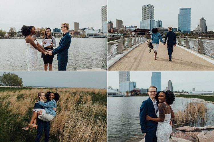 Lakeshore State Park Wedding Ceremony