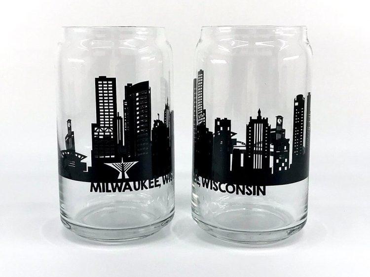 Milwaukee Wedding Favors Gifts - Skyline Glass