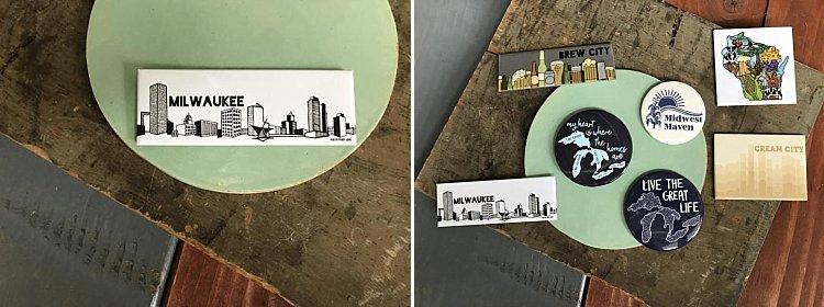 Wedding Favor - Milwaukee Magnet