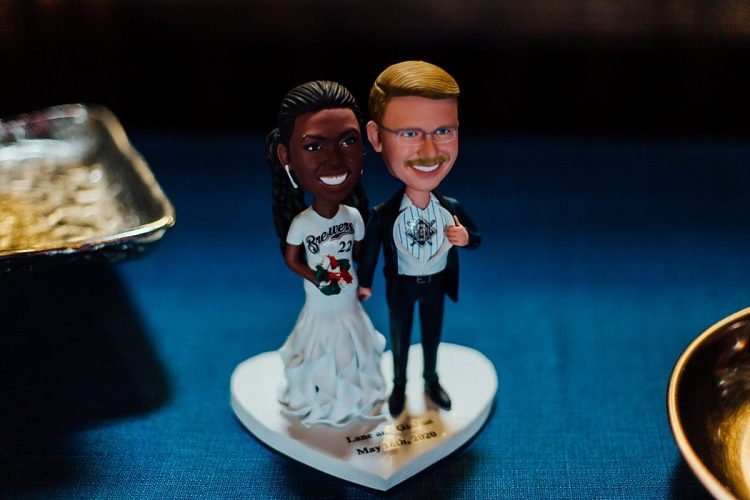 Brewers Wedding Cake Topper