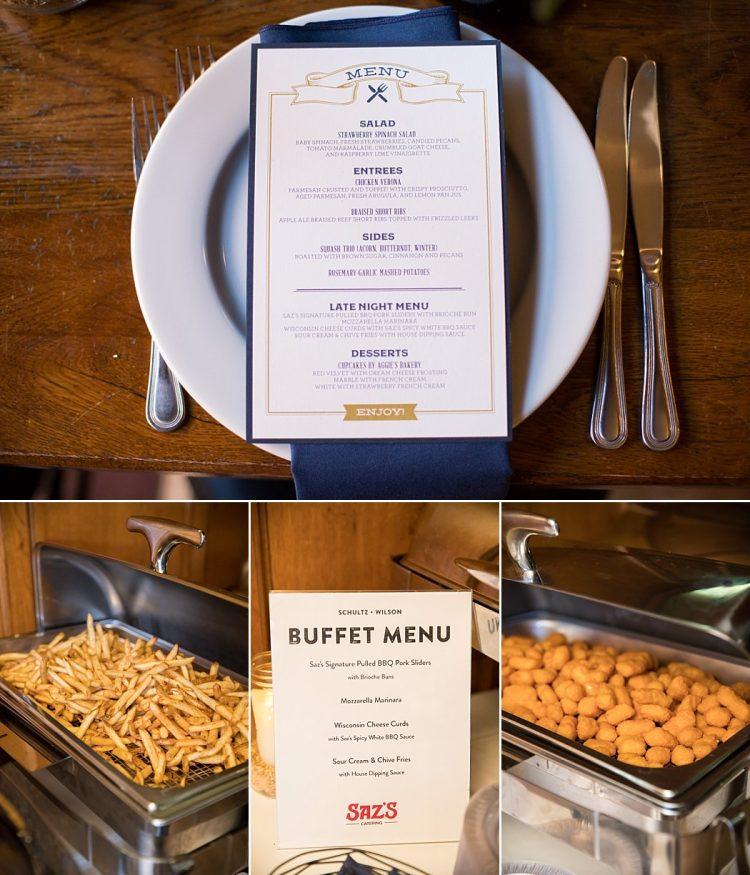 Milwaukee Themed Wedding Catering
