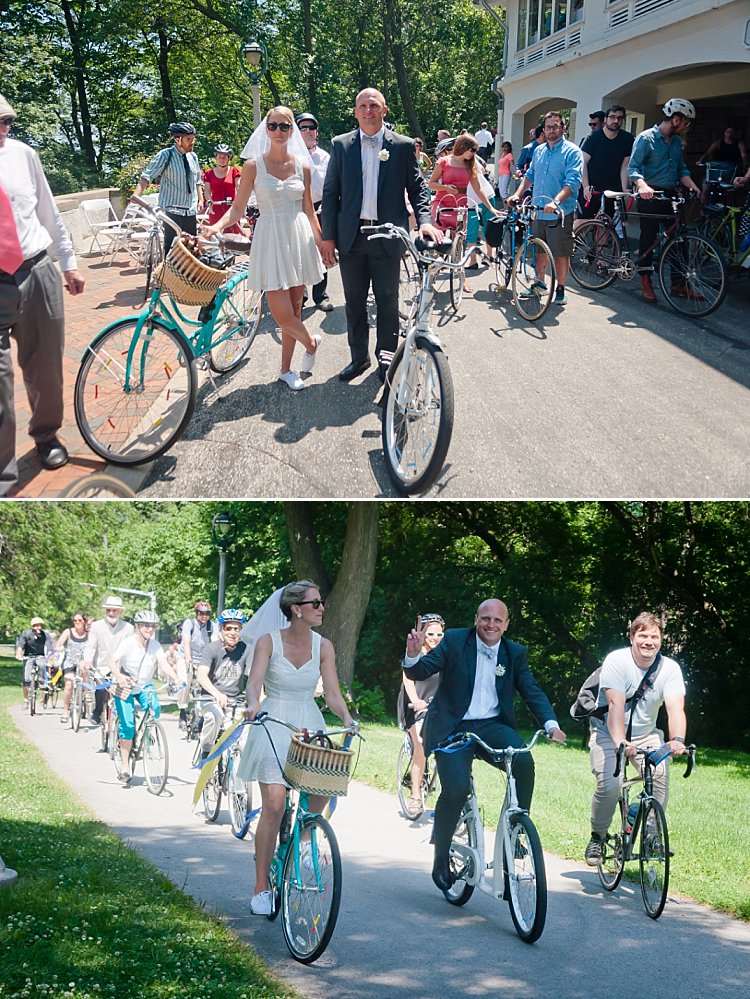 Milwaukee Wedding Ideas - Bike Ride