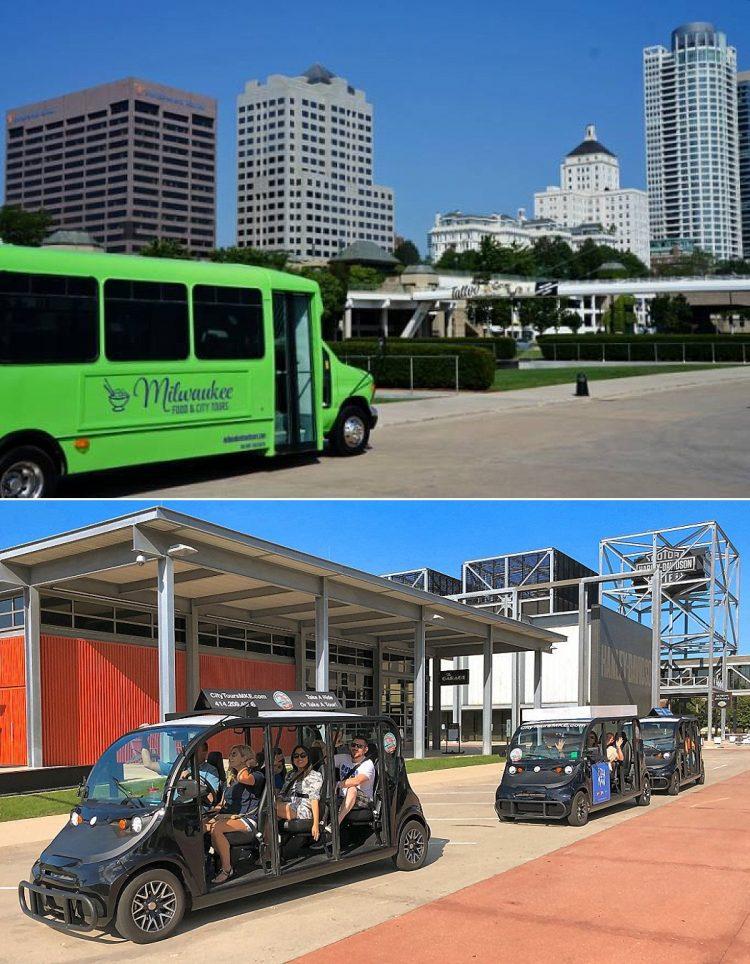 Milwaukee Wedding Ideas - Bus Tours