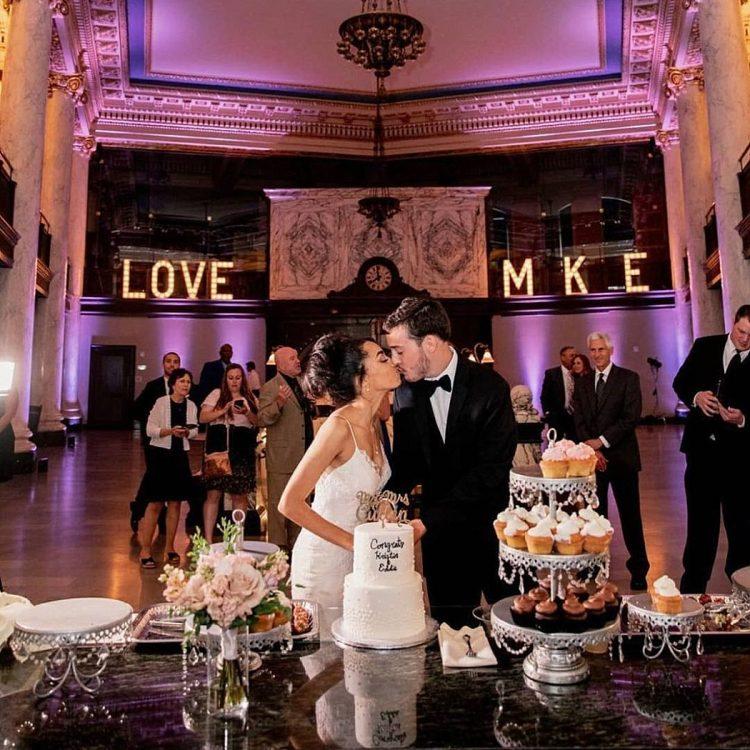 Milwaukee Wedding Ideas - Marquee Letters
