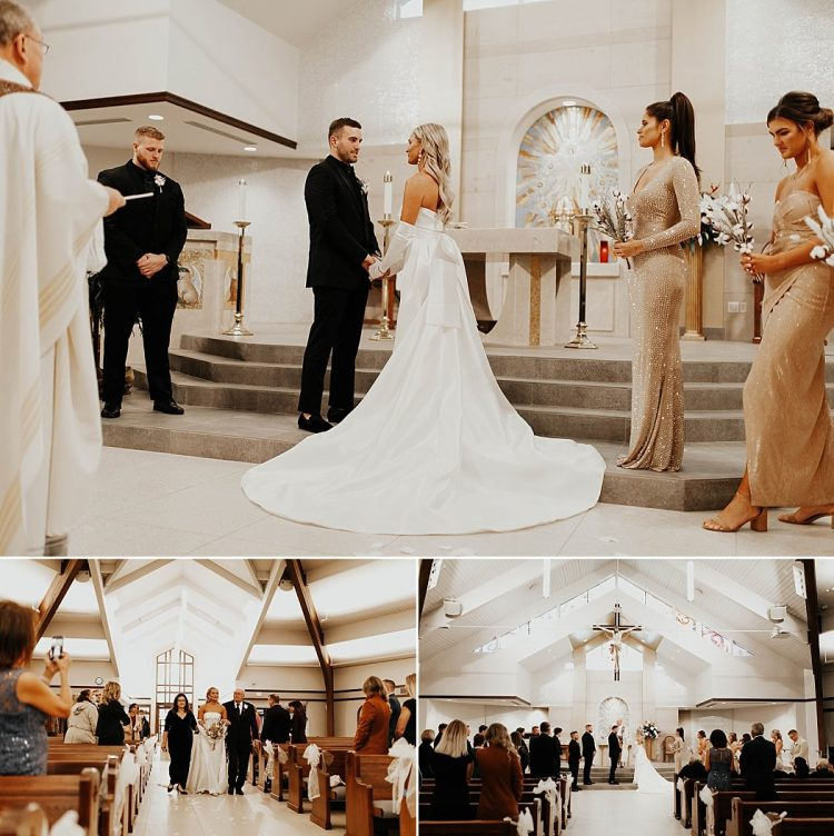 Milwaukee Church Wedding Ceremony