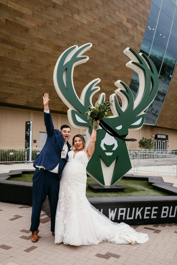 Bachelorette Party Ideas - Bucks and Brewers Game