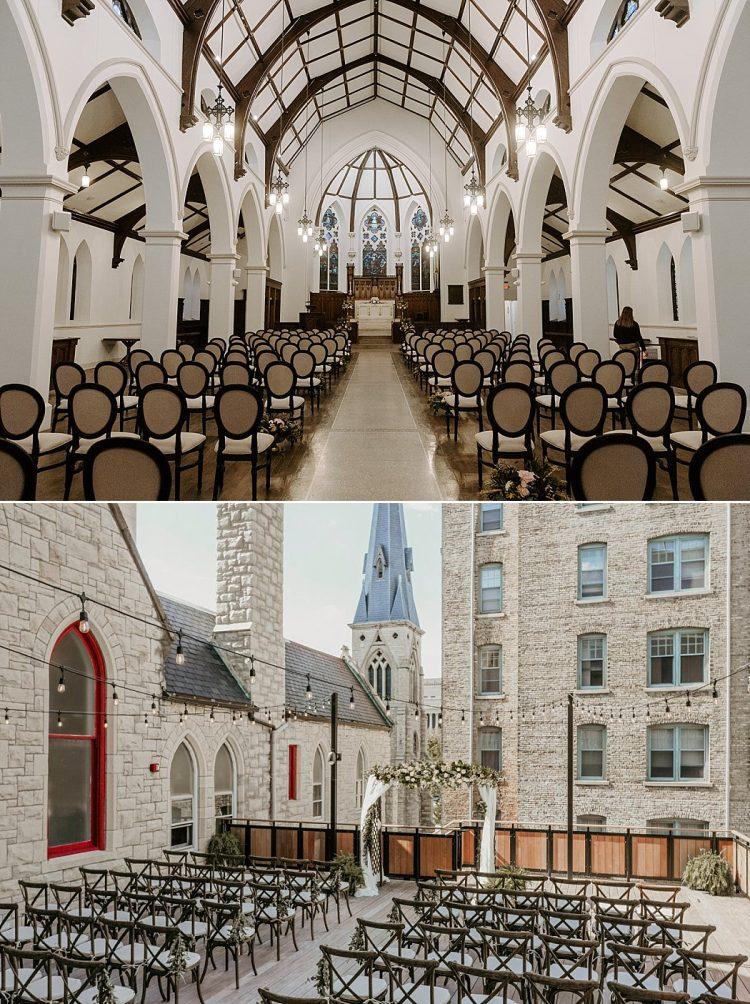 St James 1868 Wedding Ceremony