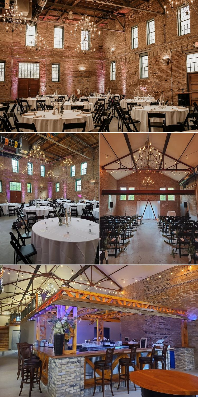 The Factory on Barclay Wedding