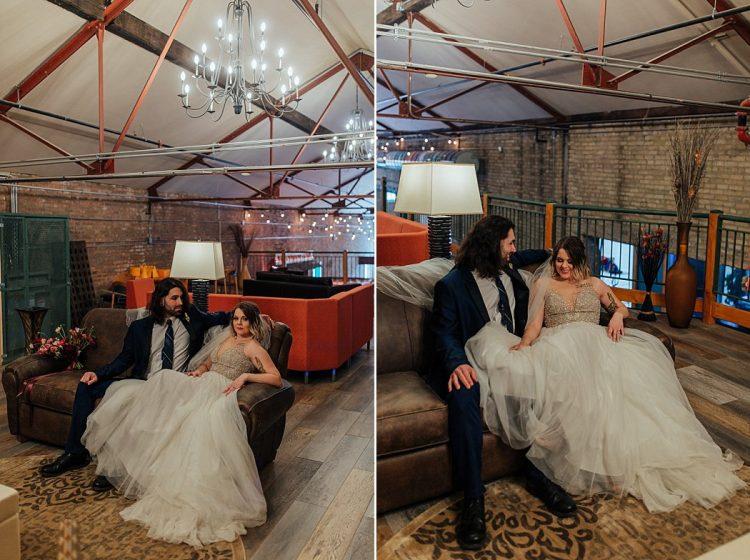 Factory on Barclay Wedding