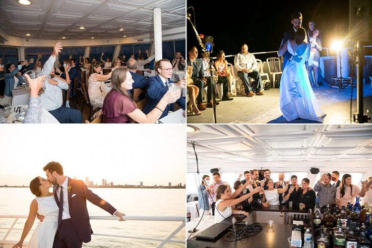 Milwaukee Boat Wedding Reception