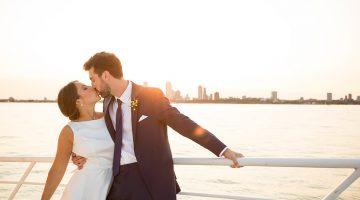 Milwaukee Boat Wedding